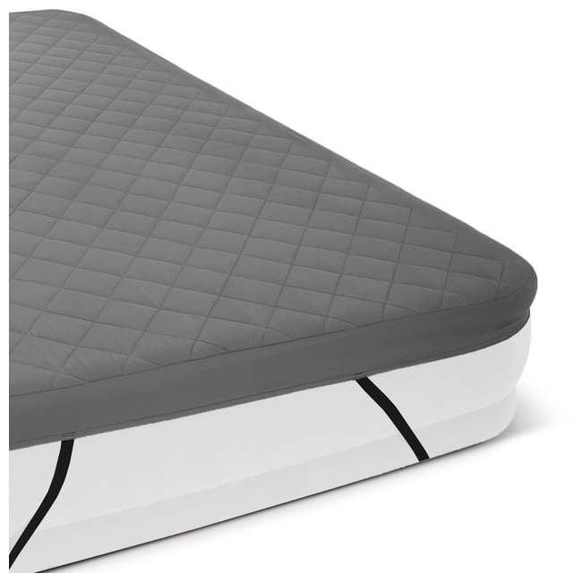 69643E Intex Queen Quilted Airbed Cover (Cover Only)  3