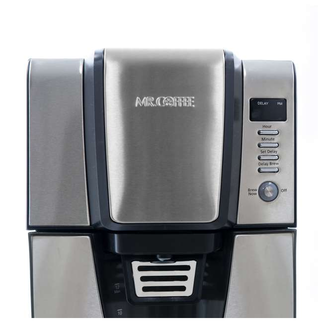 BVMC-ZH1SS Mr. Coffee 24 Hour Programmable 12 Cup Coffee Maker, Stainless Steel (For Parts) 2