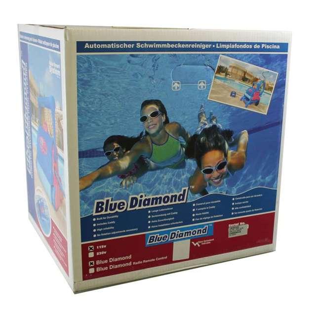 BLD03-U-C Pool Blaster Water Tech Blue Diamond in Ground Swimming Robotic Cleaner - Parts 9