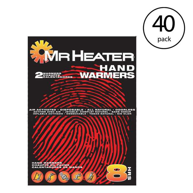 MH-F235011 Mr. Heater Pocket Hand Warmers, 40 Pair (2 Pack) 2