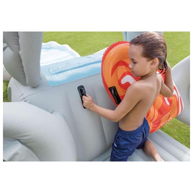 6 x 57159EP-U-A Intex Surf 'N Slide Inflatable Kids Water Slide w/ Surf Riders(Open Box)(6 Pack) 4