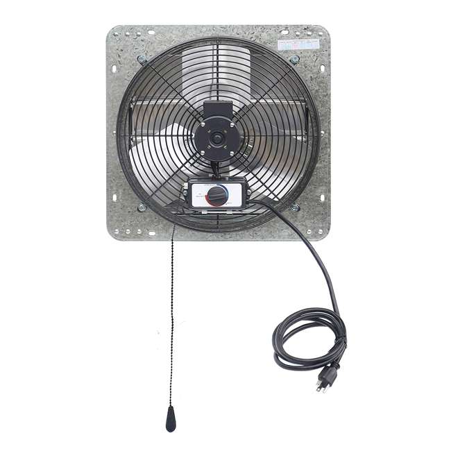 ILG8SF14V-T iLiving ILG8SF14V-T 14 Inch 3 Speed Attic Garage Growing Ventilation Exhaust Fan 3