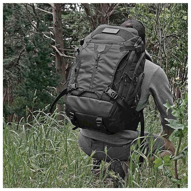 CPG-BP-MRB-L-B Cannae Pro Gear 55 Liter Marius Ruck Sack Backpack, Black 3