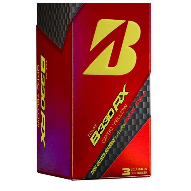 GDYX6D Bridgestone Tour B330-RX AMATOURcore Speed & Distance Yellow Golf Balls, 2 Dozen 4