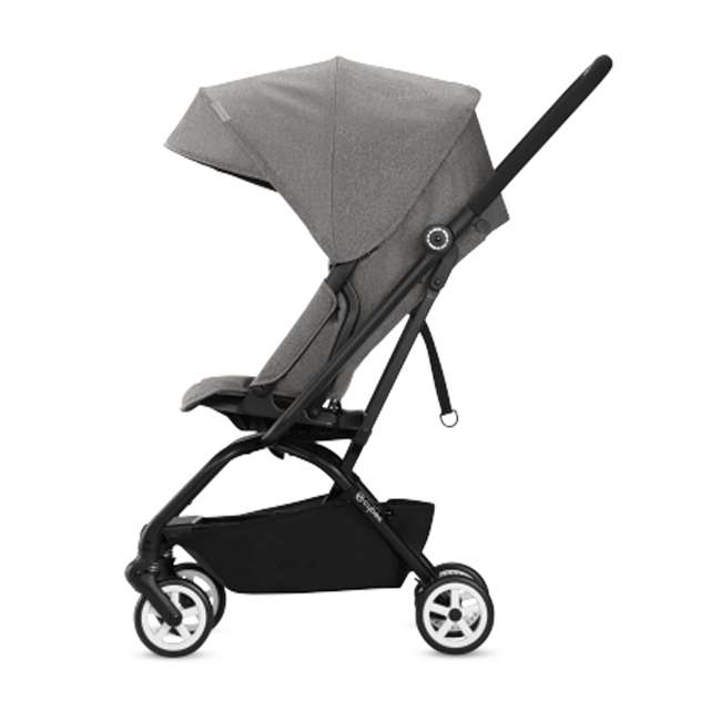 518001265 + 515103015 Cybex Eezy S Twist Stroller, Manhattan Grey & Aton 2  Car Seat 3