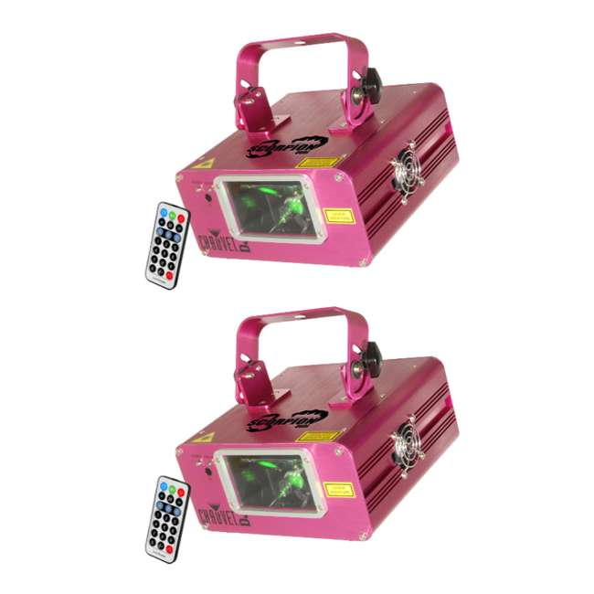 SCORPION-DUAL Chauvet DJ Scorpion Dual FAT BEAM Aerial Effect Laser w/ Remote (2 Pack)
