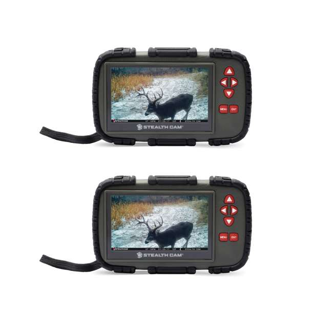 STC-CRV43X Stealth Cam 4.3-Inch LCD Viewer & SD Card Reader (2 Pack)