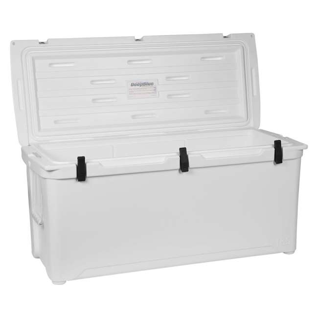 ENG165 Engel 165 High-Performance Roto-Molded Cooler, White 1