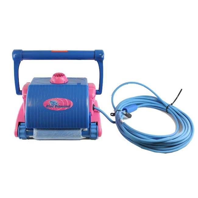 BLD03-U-C Pool Blaster Water Tech Blue Diamond in Ground Swimming Robotic Cleaner - Parts 1