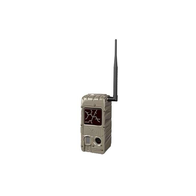G-5079 + 2 x SD4-16GB-SAN +x3488GENIUSPTLMOUNT Cuddeback Power House Black Flash Trail Camera & 16GB Memory & Mount (2 Pack) 3