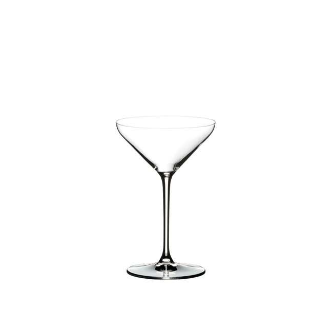 4441/17 Riedel Extreme Dishwasher Safe Crystal Cocktail Martini Glass, 8.8 Oz (2 Pack) 2