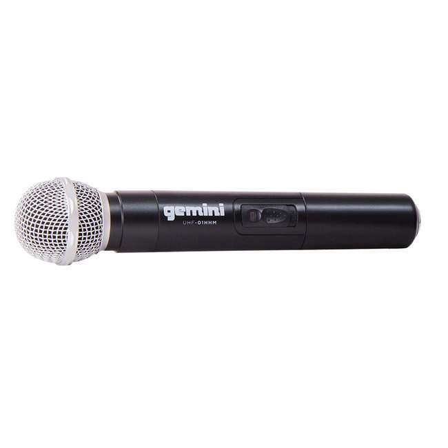 UHF-01M F1 Gemini Wireless Microphone System with Microphone Transmitter 1