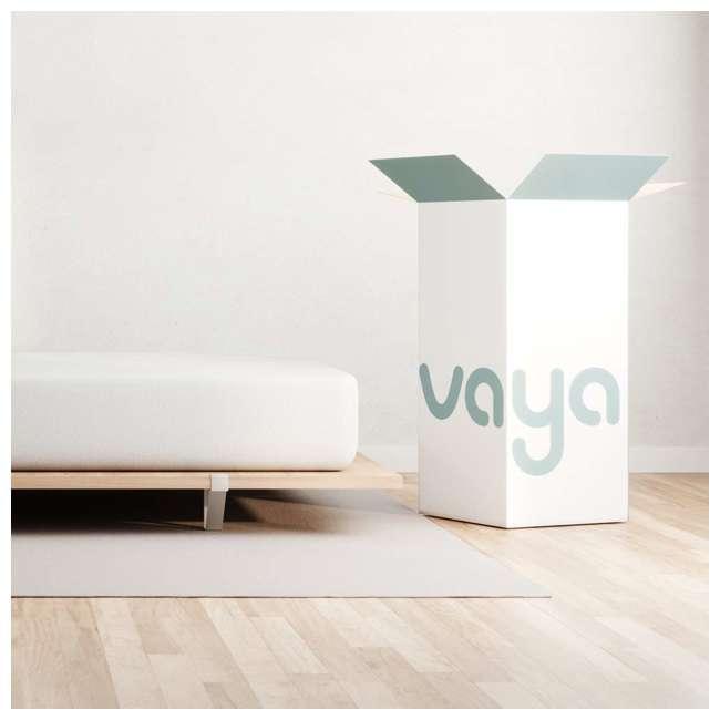 VY-Q Vaya Sleep Soft Cool Sleep CertiPUR Queen Size Premium Mattress and Cover, White 2