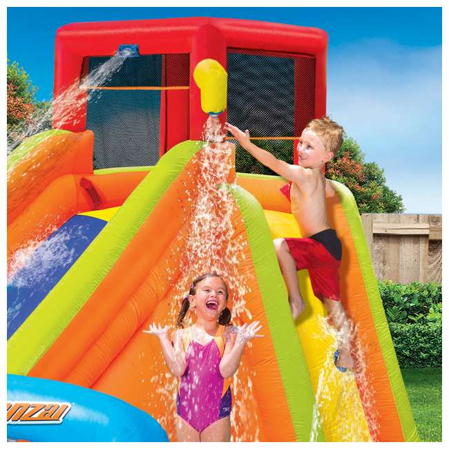 BAN-90354-U-A Banzai Kids Inflatable Outdoor Lazy River Adventure Water Park (Open Box) 2