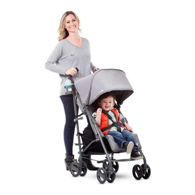 JVY-8121 Joovy Groove Ultralight Compact Canopy Umbrella Stroller, Red 2