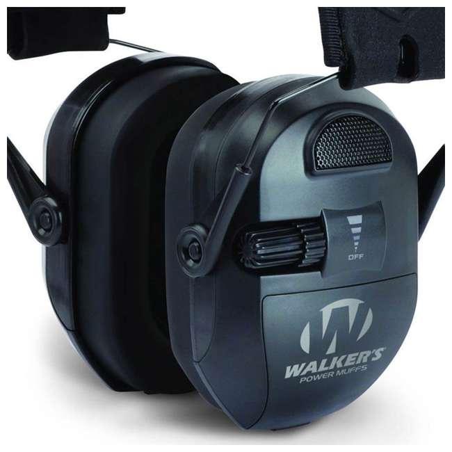 GWP-XPMB-RB Walkers Electronic Ultimate Power Ear Muffs (Certified Refurbished) 2