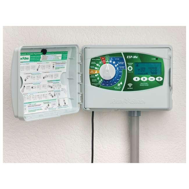 Sprinkler Control Panel : Rain bird smart wifi irrigation sprinkler indoor