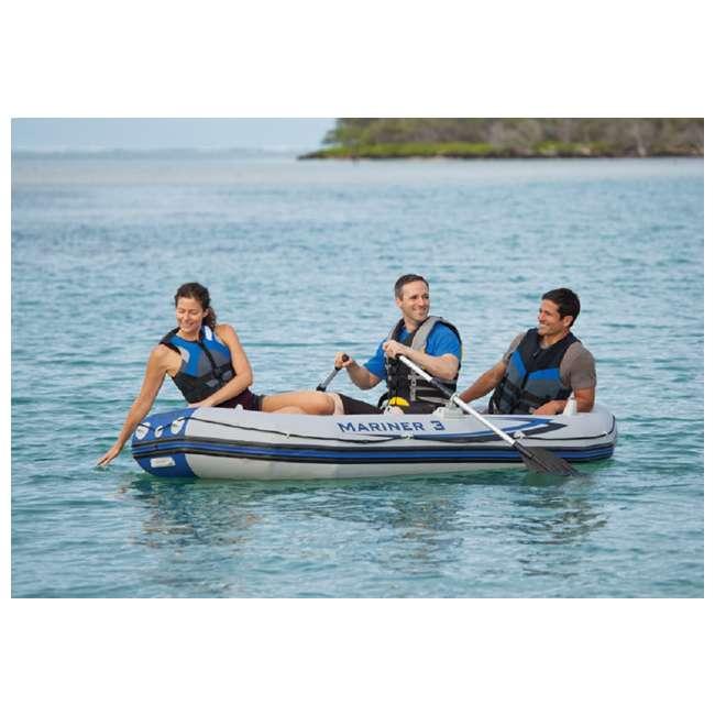 68373EP Intex Mariner 3-Person Inflatable Boat Set 6