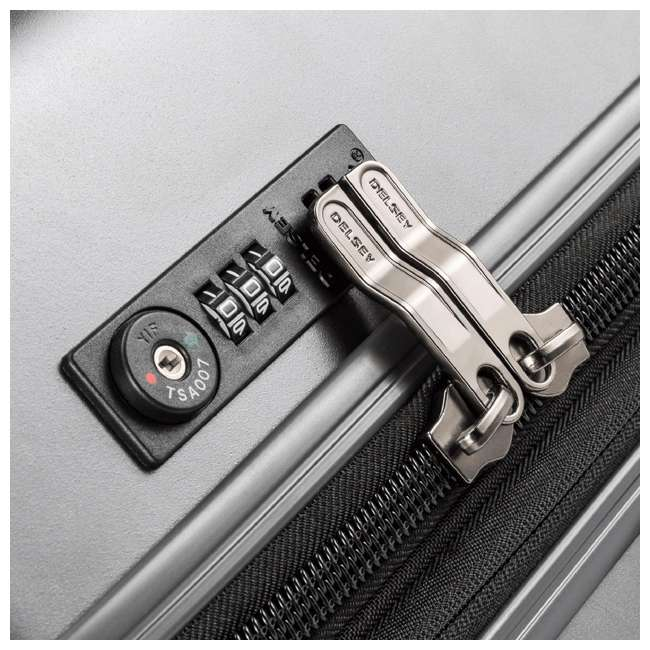 00207180101 Delsey Paris Titanium International Carry On Spinner Rolling Luggage Suitcase 5