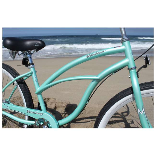 "14602-FM Firmstrong Urban Lady Women's 26"" 3-Speed Cruiser Bike, Mint 2"