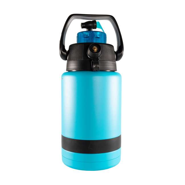 TPF-518735 nICE Coolers Pump2Pour 1 Gallon Insulated Jug with Hose and Spout, Miami Blue 1