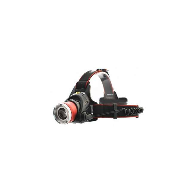 12 x MXN00621 Maxxeon 621 WorkStar Micro USB Rechargeable LED Work Headlamp, Red (12 Pack) 1