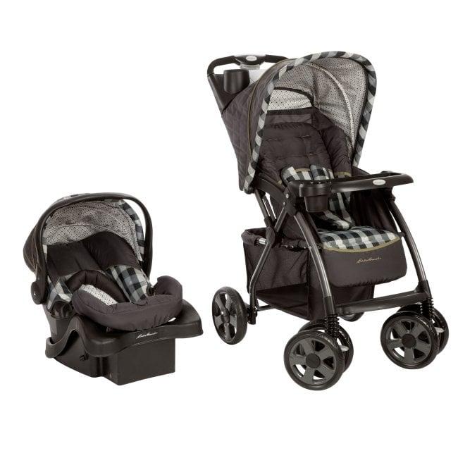 Eddie Bauer Trailmaker Stroller Infant Car Seat Travel