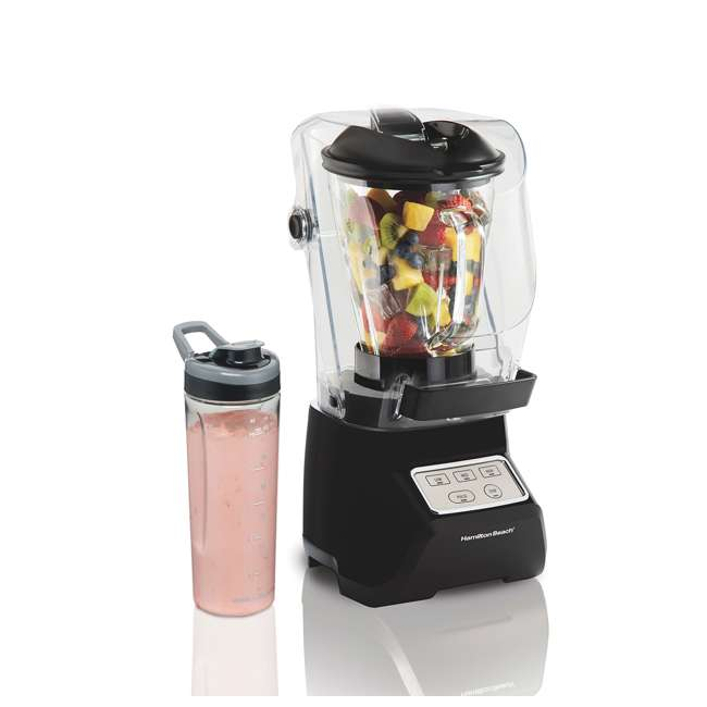 53603 Hamilton Beach 53603 Sound Shield 950 Watt 52 oz Countertop Blender Mixer, Black 6