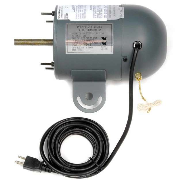 ACMOT TPI Corporation ACMOT 7900/6800CFM 1/4 HP Motor For Fixed & Industrial Fans