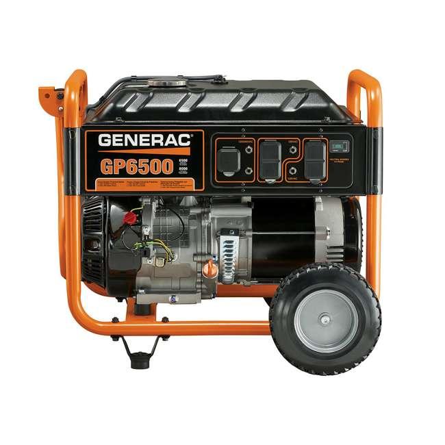 GNRC-5940 Generac 5940 GP6500 6500W Running/8125W Starting Gas Powered Portable Generator 2