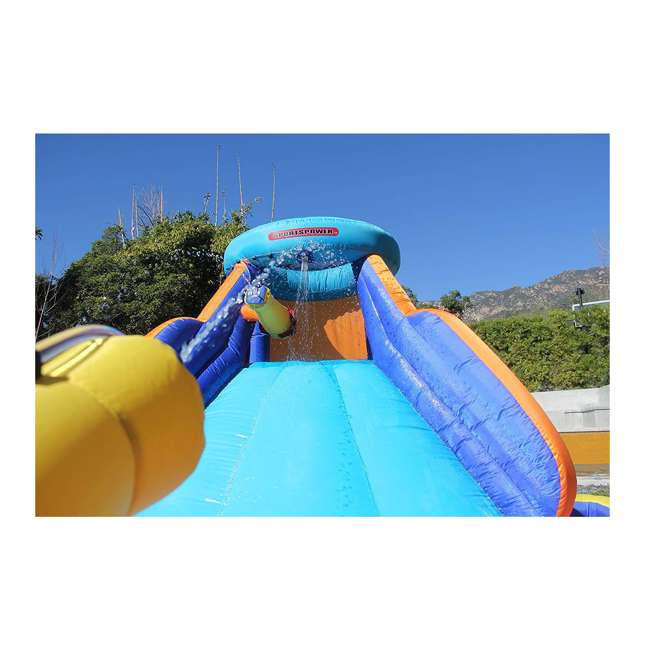 INF-1811  Battle Ridge Water Slide Inflatable with Water Cannons 2