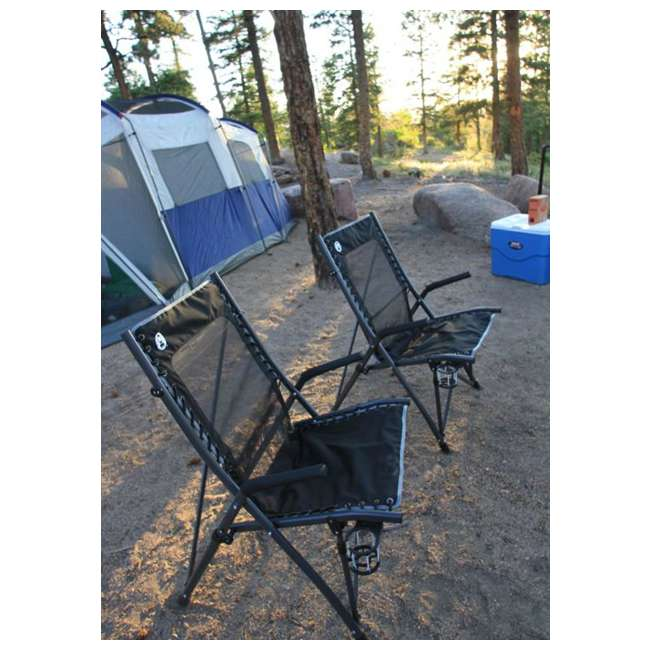 2000020292 Coleman Comfortsmart Suspension Camping Chair w/ Mesh Back & Bag | 2000020292 5