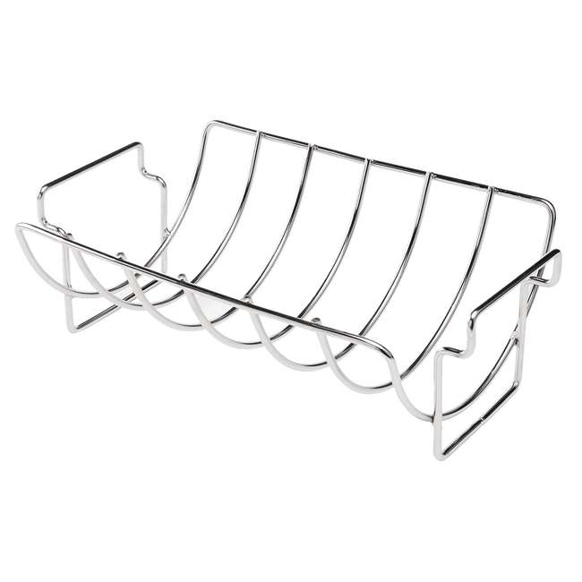 BOPA-24107 Bull Stainless Reversible Rib/Chicken Roast Grill & Barbecue Rack 1
