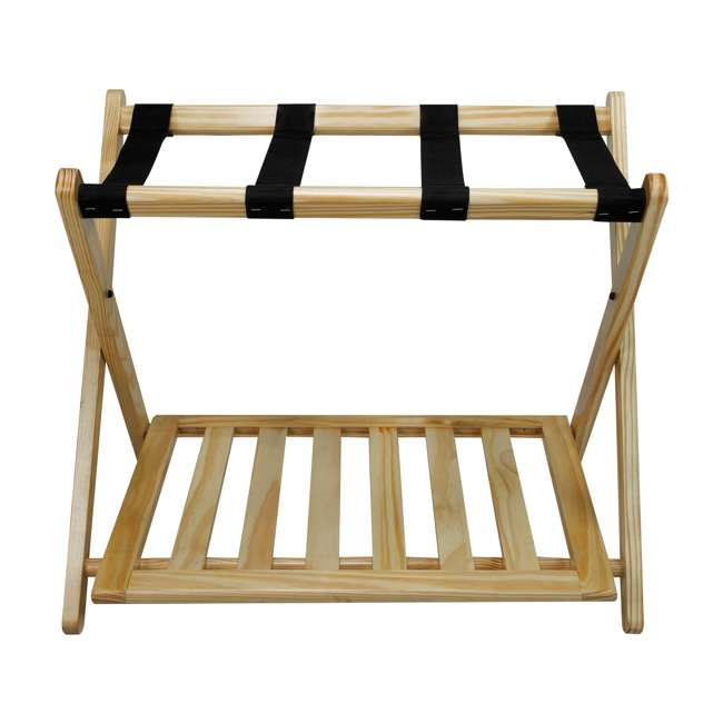 102-20 Casual Home Luggage Rack, Natural
