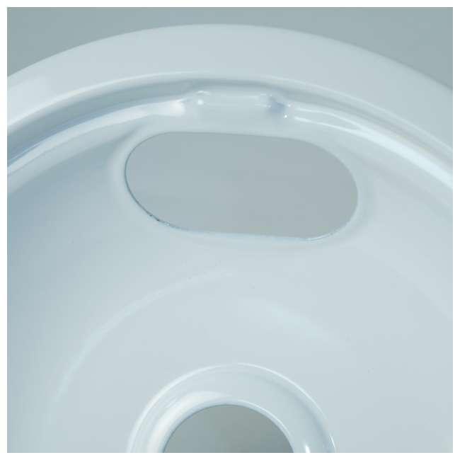 12 x P102W Range Kleen Style A Porcelain Drip Bowl, White (12 Pack) 4