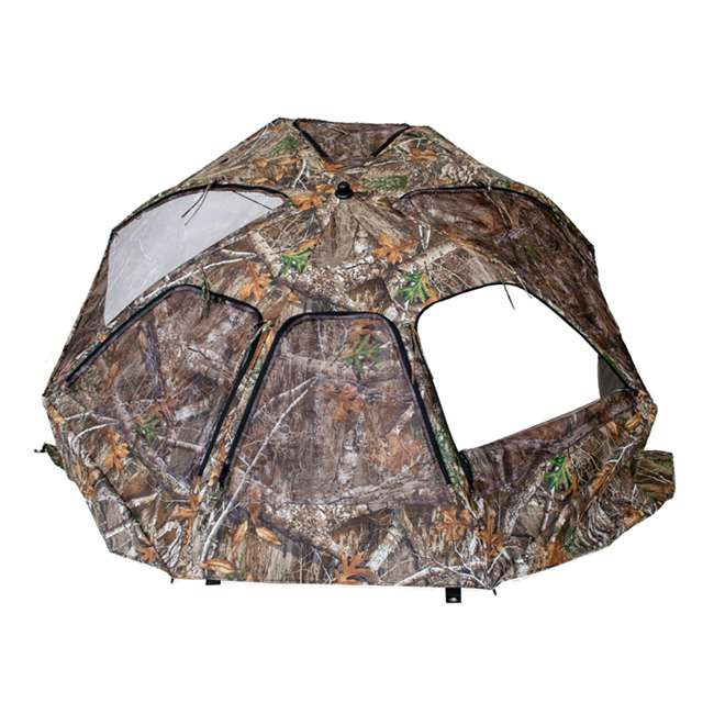 BT2119 Cooper Hunting Big Tom 2 Man Turkey Hunting Ground Blind, RealTree EDGE Camo 1