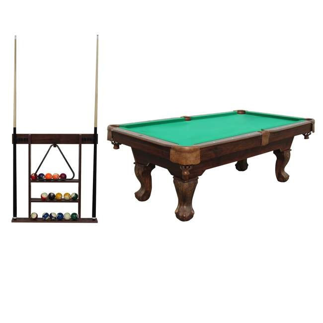 Sportcraft 7 5 foot ball and claw billiard table with cue for 10 foot pool table