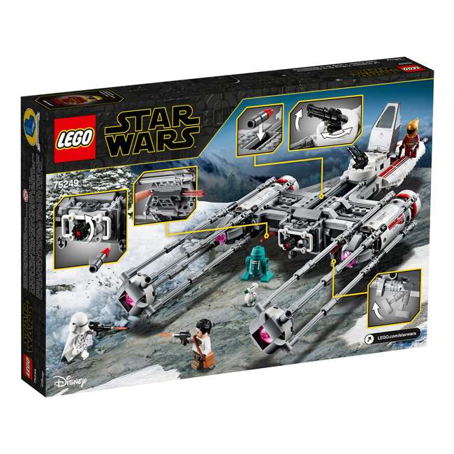 6251743 LEGO 75249 Resistance Y-Wing Starfighter Block Building Kit w/ 5 Minifigures 2
