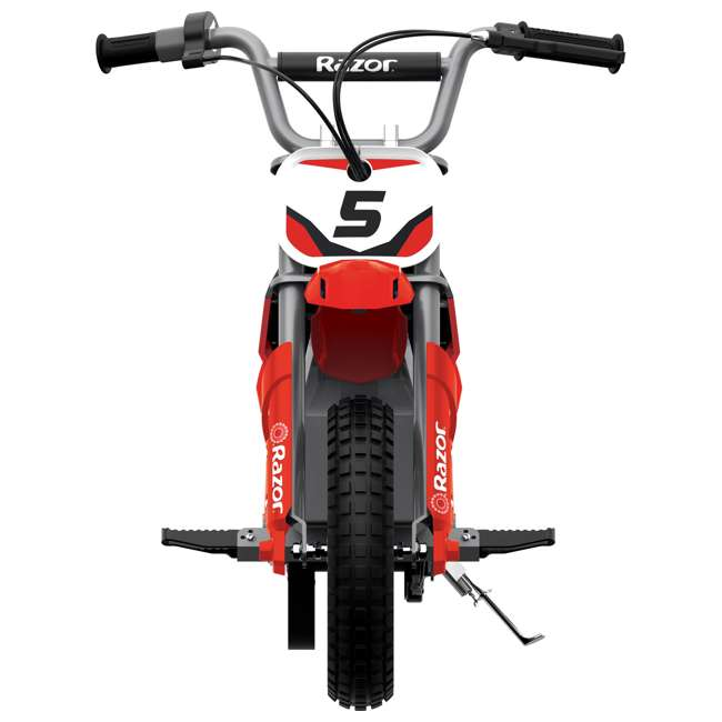 15128095 Razor MX350 Dirt Rocket Kids Electric Motorcycle, Red 2