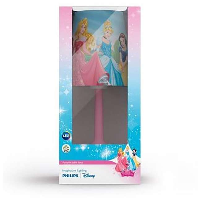 PLC-7192428U0 + 2 x PLC-7179628U0 Philips Disney LED Night Light w/ Philips Disney Princess Lamp (2 Pack) 11