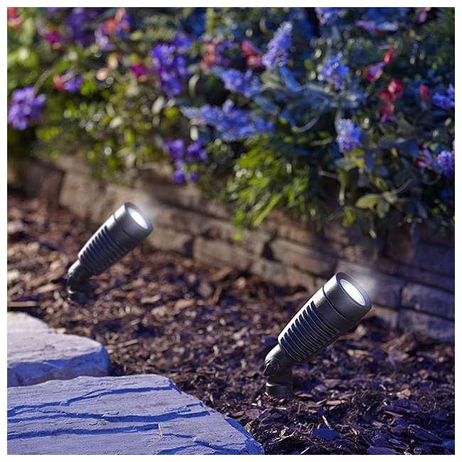 MR-95548 Moonrays Low Voltage 1 Watt Outdoor LED Adjustable Landscape Spot Light (4-Pack) 1