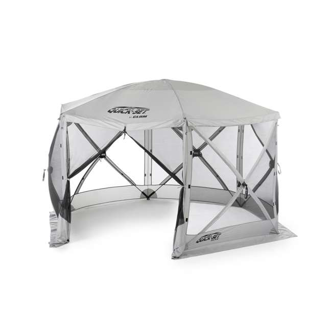 CLAM-ES-114246 Clam Quick-Set Escape Portable Outdoor Gazebo Canopy (2 Pack) 1