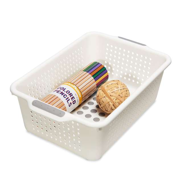 4 x 20901 Madesmart Small Kitchen Drawer Storage Basket (4 Pack) 4