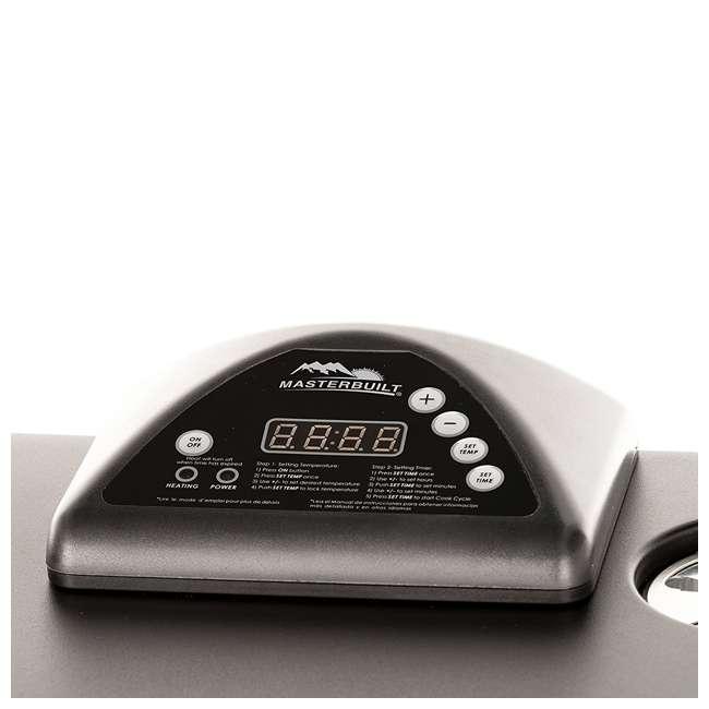 "3 x MB20071117-U-A Masterbuilt Outdoor 30"" Digital Electric Smoker Grill, Black (Open Box) (3 Pack) 3"