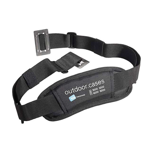 117.17/P B&W International Jumbo 500 Outdoor Tool Case with Pocket Tool Boards, Black 7