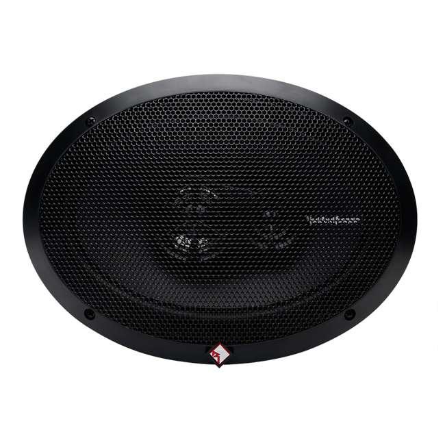 R169X3 + TW6X9 2) Rockford Fosgate R169X3 6x9-Inch 130W Speakers + 2) Angled 6x9-Inch Speaker Box (Package) 4