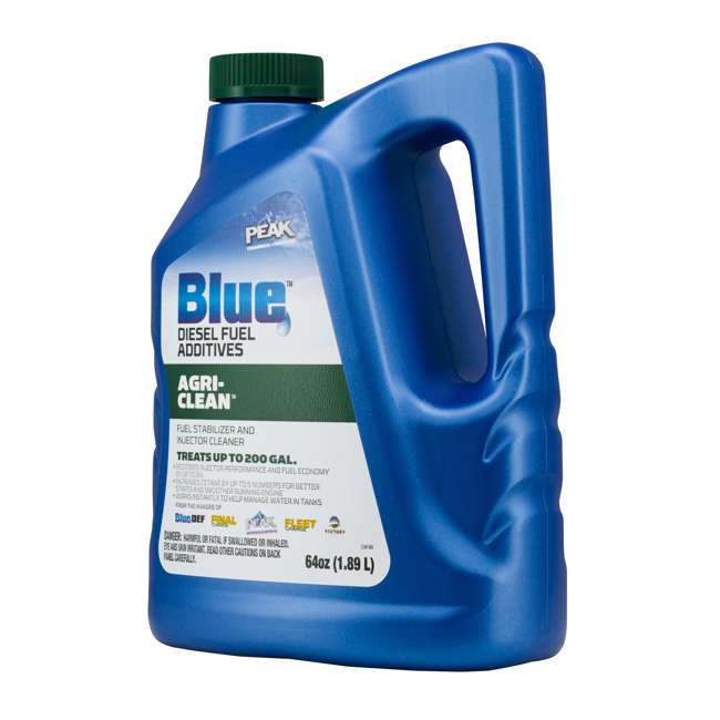 BDAGR64 PEAK Blue 64 Ounce Agri-Clean Liquid Fuel Stabilizer Additive for Diesel Engines 1