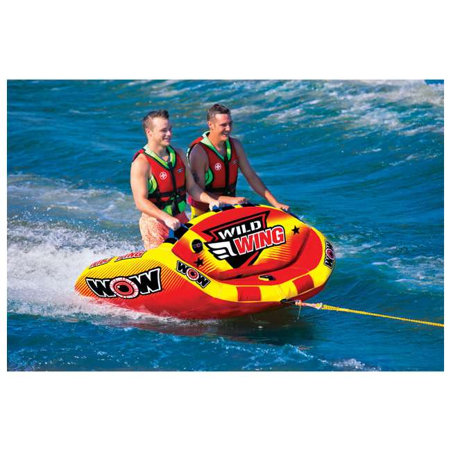 18-1120 World of Watersports Wild Wing 2 Rider Inflatable Tube 2