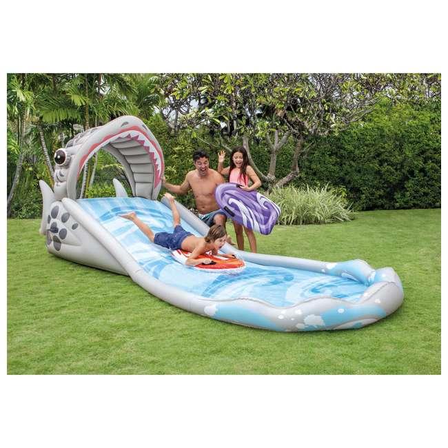 6 x 57159EP-U-A Intex Surf 'N Slide Inflatable Kids Water Slide w/ Surf Riders(Open Box)(6 Pack) 2