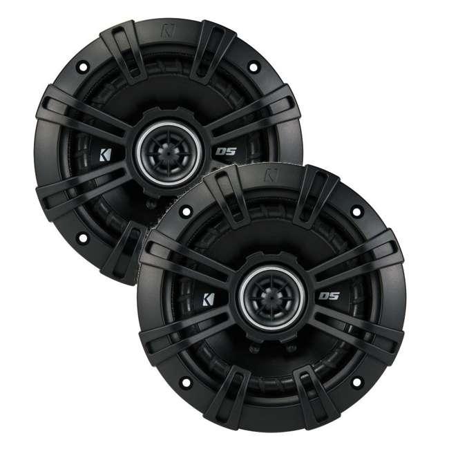 DB462 + 43DSC504 Polk Audio 150W Speakers w/ Kicker 200W Car Audio Speakers 6